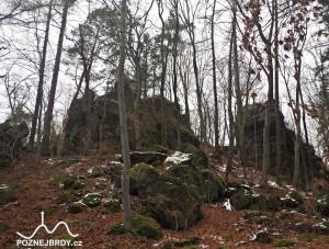 Zbytky hradu Homberka