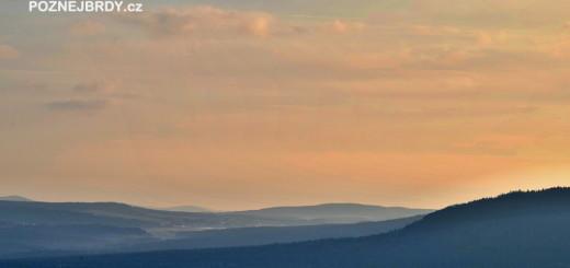 Pohled na Brdy z vrcholu Kotle