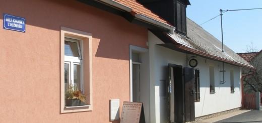 Budova Cvokařského muzea v Rožmitále pod Třemšínem