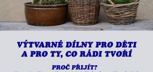 Plakát k výtvarným dílnám. Zdroj: rozmitalptr.cz