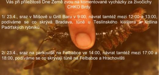 Plakát k akci, zdroj: AOPK ČR
