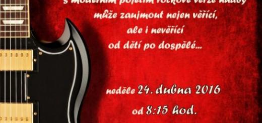 Plakát k ROCKové mši, zdroj: rozmitalptr.cz