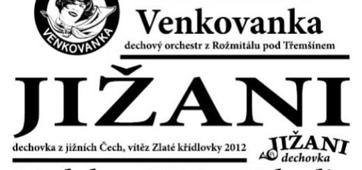 Plakát k dechovkovému festivalu, zdroj: rozmitalptr.cz