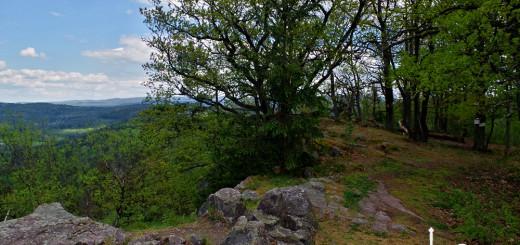 Z vrcholu Žďáru je krásný výhled
