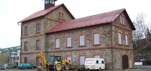 Budova dolu Anna v Příbrami - Březových Horách, autor: Radouch (cc-by licence, wikimedia)