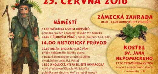 Plakát k akci, zdroj: Podbrdské muzeum
