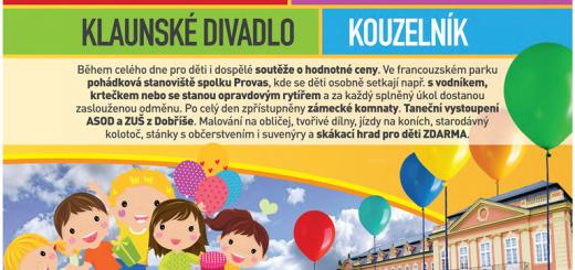 plakát k akci, zdroj: zamekdetem.cz