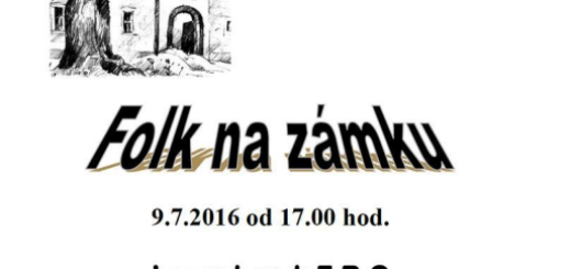 Folk na zámku, plakát k akci, zdroj: spaleneporici.cz