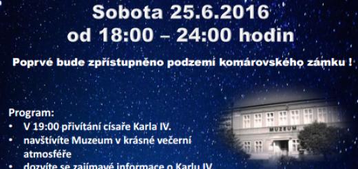 Plakát k akci, zdroj: ikomarov.cz
