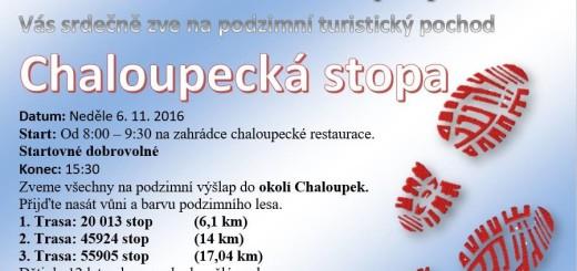 Chaloupecká stopa, zdroj: Facebook - Obec Zaječov