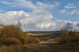 Pohled na Bahna od západu