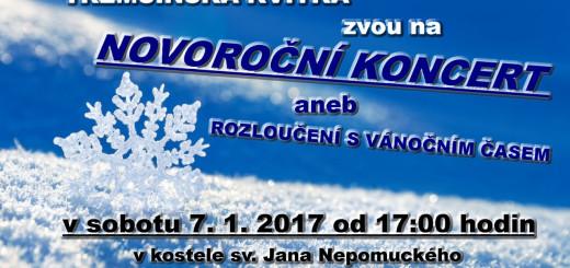 Novoroční koncert, zdroj: Třemšínská kvítka