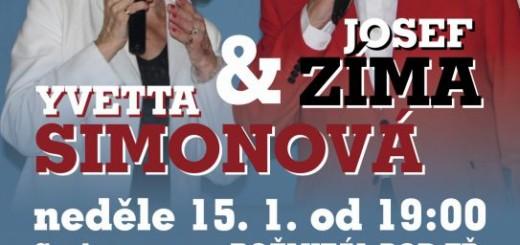 Yvetta Simonová a Josef Zima, zdroj: podbrdskeinfo.cz