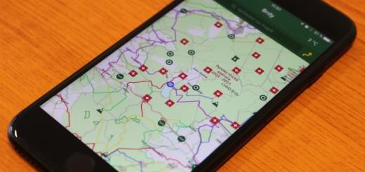 Mapová aplikace VLS, zdroj: VLS