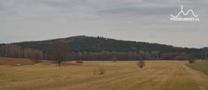 Petráškova hora, pohled od Roželova