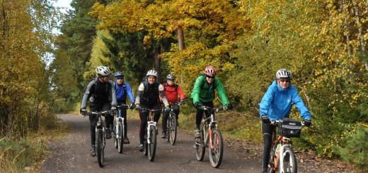 Cyklisté v Brdech, foto: Radka Žáková