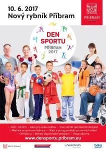 Den Sportu 2017, zdroj: Město Příbram