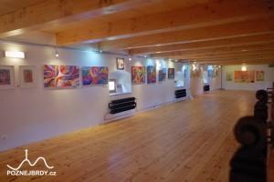 Muzeum Magdaleny Dobromily Rettigové: Galerie ve 2. patře