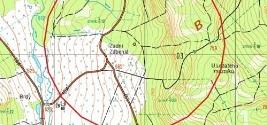 Místo ničení munice a kilometrová ochranná zóna okolo něj - sem rozhodně nechoďte! zdroj: Armáda ČR