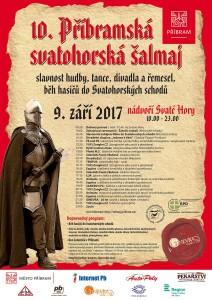 Příbramská svatohorská šalmaj, zdroj: Příbram - oficiální stránky města (facebook)