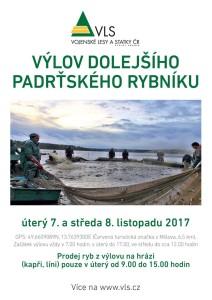 Výlov Dolejšího Padrťského rybníku, zdroj: VLS.cz
